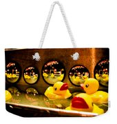 Ducky Reflections Weekender Tote Bag