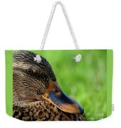 Ducky Up Close And Personal Weekender Tote Bag