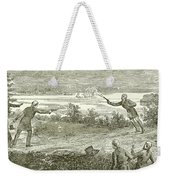Duel Between Alexander Hamilton And Aaron Burr Weekender Tote Bag