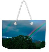 Dueling Rainbows Weekender Tote Bag