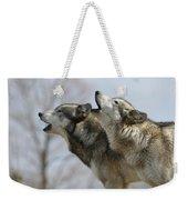 Duet Howl Weekender Tote Bag