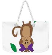 Duffworkscreative_monkeyfunlove_hangin Weekender Tote Bag