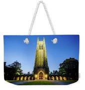 Duke Chapel At Dusk Weekender Tote Bag
