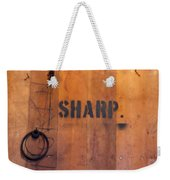 Dull Sharp Weekender Tote Bag