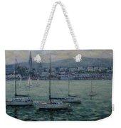 Dun Laoghaire Harbour Dublin Weekender Tote Bag