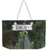 Duncan Ln Weekender Tote Bag