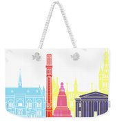 Dundee Skyline Pop Weekender Tote Bag