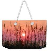 Dune Grass Sunset Weekender Tote Bag