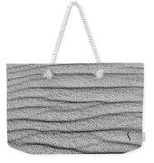 Dune Textures In Monochrome Weekender Tote Bag