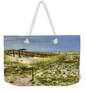 Dunes At Tybee Island Weekender Tote Bag