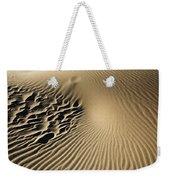 Dunes Footprints Weekender Tote Bag