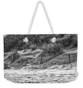 Dunes In Black And White Weekender Tote Bag