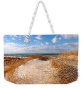 Dunes In Winter Weekender Tote Bag