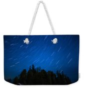 Dunks Point Star Trail Weekender Tote Bag