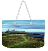 Dunstanburgh Castle Weekender Tote Bag