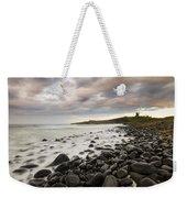 Dunstanburgh Castle Sunset Weekender Tote Bag