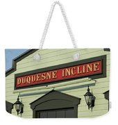 Duquesne Incline Weekender Tote Bag