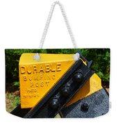 Durable Bumping Post Weekender Tote Bag