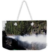 Durango Silverton Blowing Off Steam Weekender Tote Bag