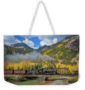 Durango-silverton Twin Bridges Weekender Tote Bag