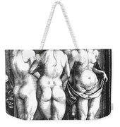 Durer Four Witches, 1497. For Licensing Requests Visit Granger.com Weekender Tote Bag