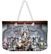 Durga Idol At Puja Pandal Durga Puja Festival Weekender Tote Bag