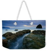 Dusk At Kiwanda  Weekender Tote Bag