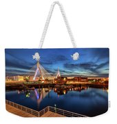 Dusk At The Zakim Bridge Weekender Tote Bag