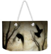 Dusk Begins As The Crows Fly Weekender Tote Bag