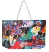 dusk in Bay Roberts Weekender Tote Bag