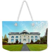 Dusk On Pacific County Historical Courthouse  Weekender Tote Bag
