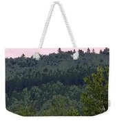 Dusk On The Hill Weekender Tote Bag