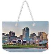 Dusk Pano In Cincinnati Weekender Tote Bag