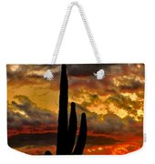 Dusk To Dawn Weekender Tote Bag
