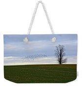 Dusk Tree And Birds Weekender Tote Bag