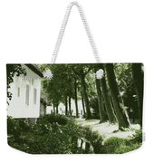 Dutch Canal - Digital Weekender Tote Bag