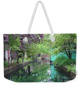Dutch Canal Weekender Tote Bag