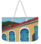 Dutch Doors Of St. Thomas Weekender Tote Bag