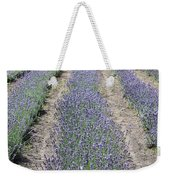Dutch Lavender Field Weekender Tote Bag