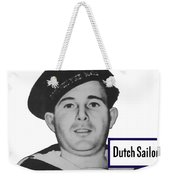 Dutch Sailor This Man Is Your Friend Weekender Tote Bag
