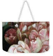 Dutch Tulips Dutch Tile Weekender Tote Bag