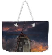 Dutch Windmill In Lynden Washington State At Sunset Weekender Tote Bag