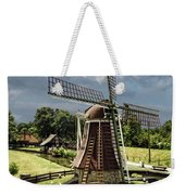 Dutch Windmill Near The Zuider Zee Weekender Tote Bag