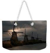Dutch Windmills In Kinderdjik Weekender Tote Bag