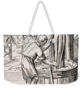 Dyer. 19th Century Reproduction Of 16th Weekender Tote Bag