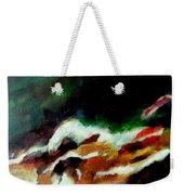 Dying Swan-abstract Weekender Tote Bag