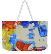 Dylan Watercolor Weekender Tote Bag