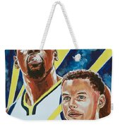 Dynamic Duo - Durant And Curry Weekender Tote Bag
