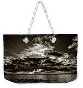 Dynamic Sunset - Sepia Weekender Tote Bag