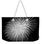 Bang Bang Black And White  Weekender Tote Bag